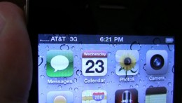iPhone 4 NoBars 260x147 iPhone 4 reception problems could be fixed come Monday.