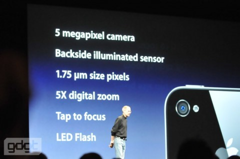 iPhone 4 camera slide e1275938760840 Everything announced at WWDC in one handy list
