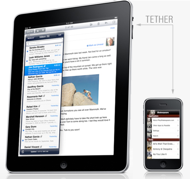 AT&T Extinguishes iPhone-iPad Tethering Hopes