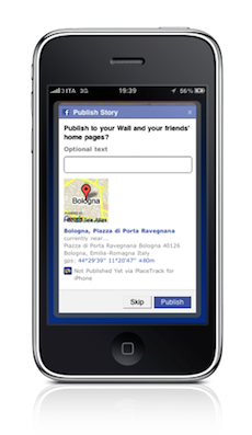 iphone screen5 fb 50pct thin PlaceTrack: Enabling Background Google Latitude Updates For iPhone