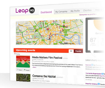 Do good and get your company 'Brownie Points' with LeapCR
