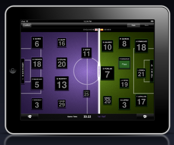 "LivePitch Turns Your iPad Into A World Cup ""Second Screen"""