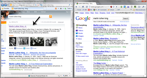 martinbig thumb Bing Earned Itself A Place In Safari