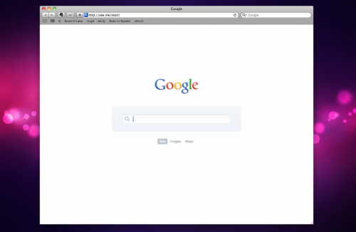 minimal google 500x326 Google Launches Homepage Customization With Your Pictures