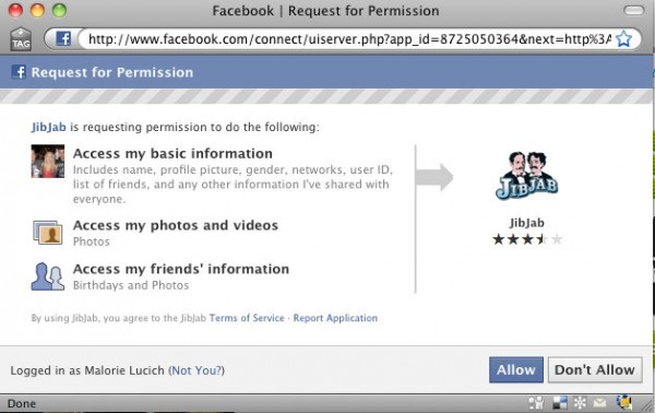 new fb permissions 600x378 Facebook Just Launched Simplified Application Permissions