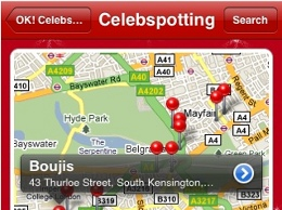 ok celeb spotting Proof That Locations Gone Mainstream: The Celebrity Stalking App