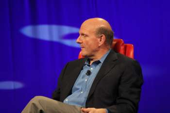 "Ballmer at D8, ""We were ahead of the phones game""."