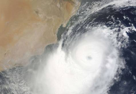 Cyclone Phet From Space