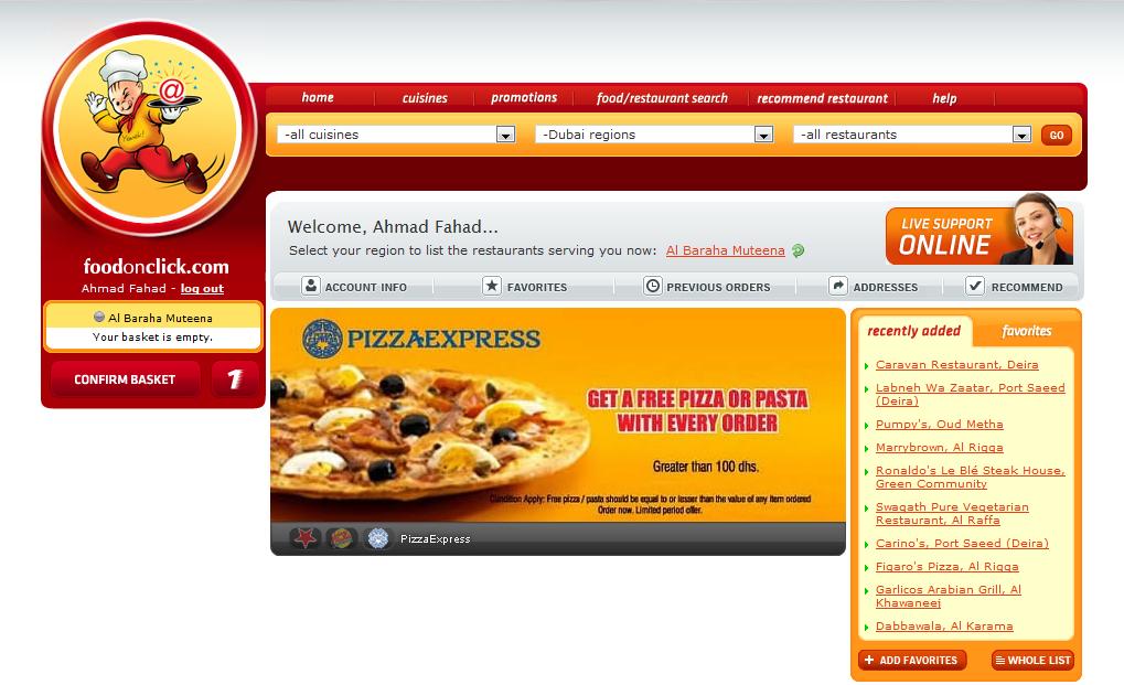 FoodOnClick: Turkey's Number One Online Food Ordering Portal