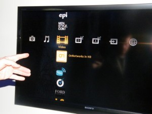 sonytv 300x225 Yahoo Widgets come to more Sony TVs, Internet TV competition getting really interesting