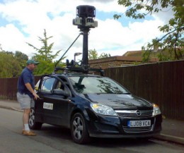 street view car by davidbally 260x217 UK Police Join Assault on Googles Wifi Data Collection