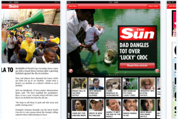 thesun 260x174 The Suns iPad App Launches, Bypasses Apples No Porn Rule