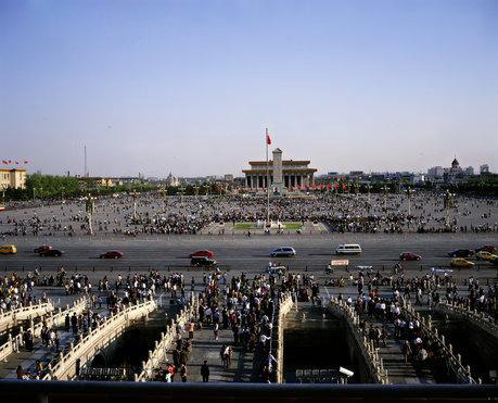 tiananmen square 5 Foursquare in China shut down by Tian'anmen Square.