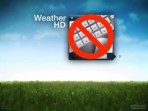 Weather HD No Arabic