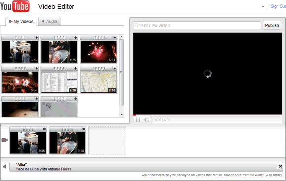 YouTube gets a video editor.  New Rickroll versions imminent.