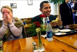 07obama lunch 1SHP 260x176 Lunch with the President? You can now add his schedule to iCal
