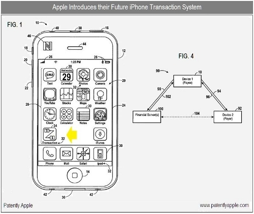 6a0120a5580826970c0133ed83bfd9970b 800wi How Apple envisions a check in iPhone and OS