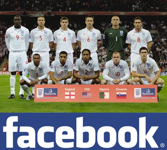 Facebook Denies England Sponsorship Rumor
