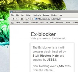 Exblocker 260x239 Bitter much? Hide your exes with Ex blocker.