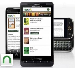Nook 260x238 Barnes & Noble NOOK for Android arrives in the Market today