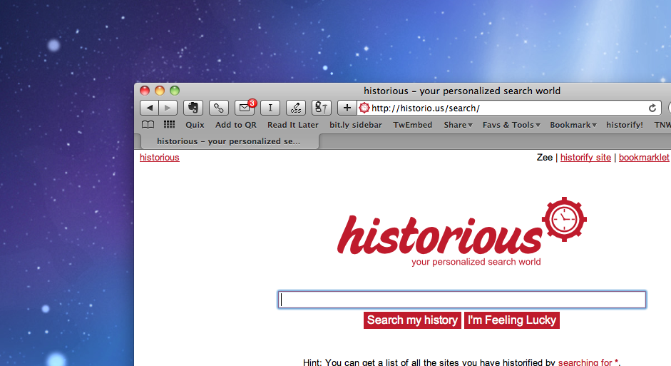 Historious: The bookmarking tool I've been waiting for has finally been built. What took so long? ...