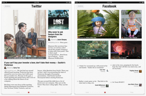 Picture 1284 500x329 The iPad just got a game changing news reader, its called Flipboard.