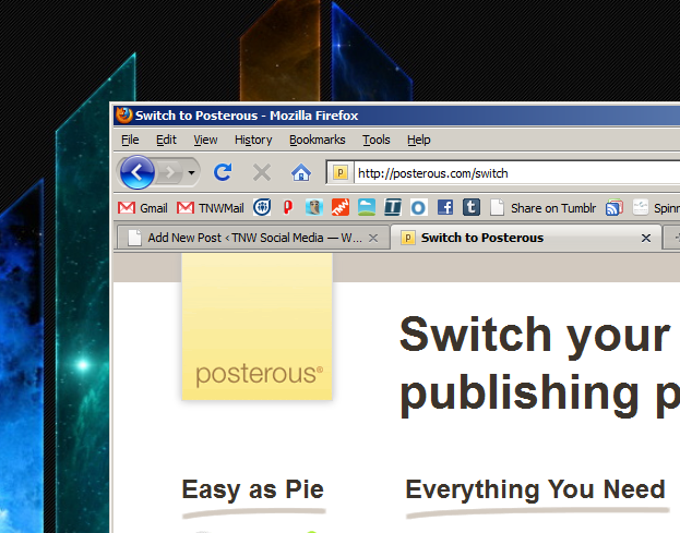 Posterous will import WordPress…and few users will care.