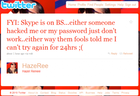 Skype problems e1280607702406 Skypes Password Service Goes Haywire