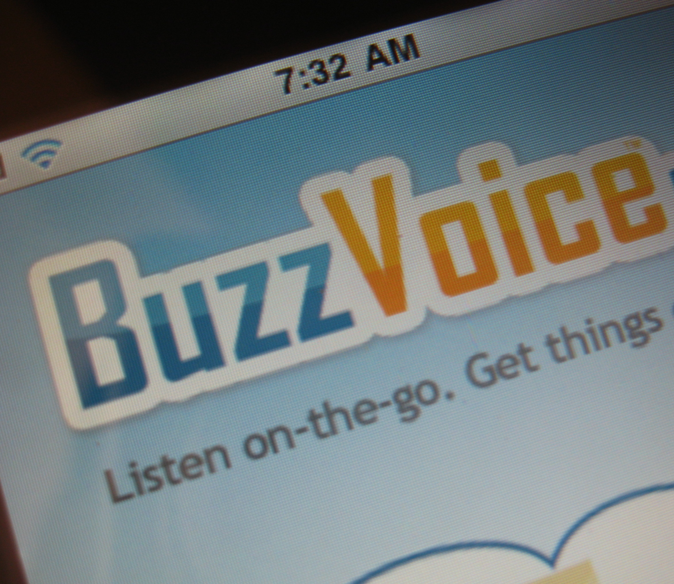 BuzzVoice lets you listen to your favorite websites.  Yes, listen.