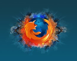abstract firefox wallpaper 260x208 Firefox 4, Beta 2: Tab features to take the hearts of Chrome users.