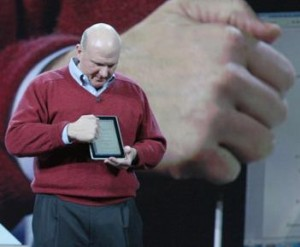 ballmer 300x247 Microsoft Is Coming Full Guns After The iPad