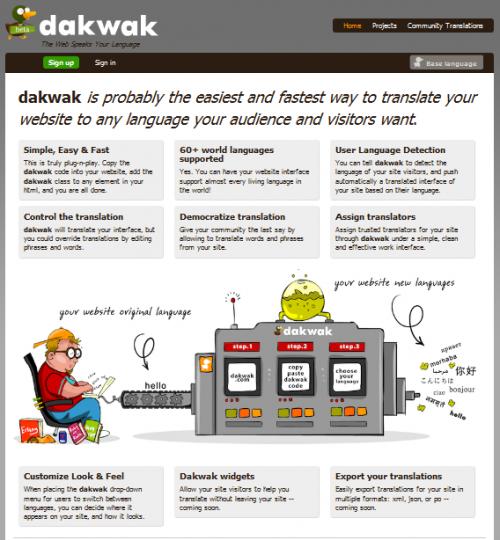 Dawkwak Interface