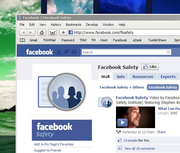 Facebook's new Safety Page takes more strides toward user education.