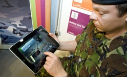 iTech London ipad 410 260x158 UK militarys new recruit   an iPad app.