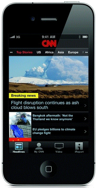 Cnn Goes Worldwide Launches Free International Version Of Its Iphone