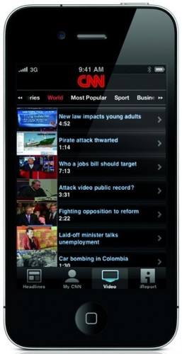 large thumbnail31 257x500 CNN goes worldwide; launches free international version of its iPhone app.