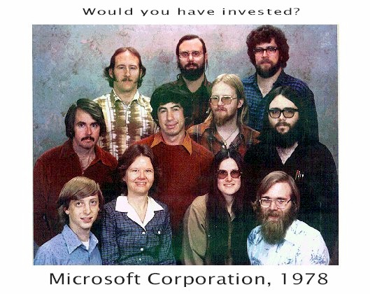 microsoft in 1978 Who is building the next Google?
