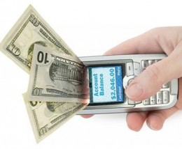 money to go 260x214 One Click Mobile PayPal Purchases Launch On Your Smartphone