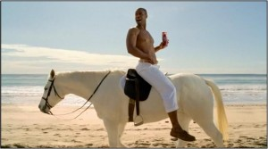 old spice guy 300x167 Old Spice polishes its monocle smile all the way to a 107% sales increase.