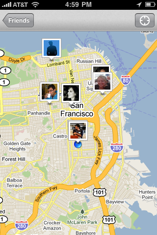 photo31 Foursquare 1.9: Now with Maps