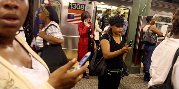 subway cellphone New York Subways Will Soon Have Wireless Service