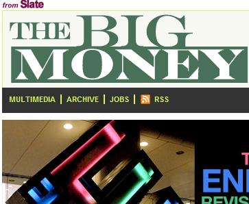 Slate Kills 'The Big Money' Showing Cracks In Expansionist Online Publishing