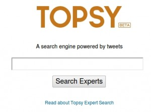 topsy 300x222 Topsy Expert Search helps you find topical experts on Twitter
