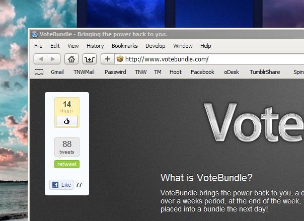 VoteBundle: 20 great Mac apps, 10 go into a bundle.  You decide.