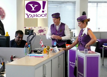 58% of iPad users going to Yahoo! are over 34 years old, 34% are women