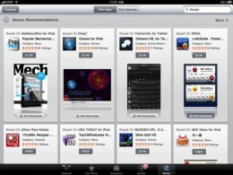 115947 ipad app store genius 500 260x195 Genius idea for iPad App Store.