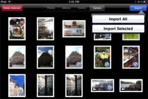 Syncronizing Images on iPad