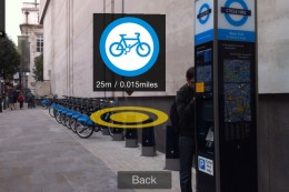 6 260x173 Find Londons Boris Bikes via Augmented Reality on your iPhone