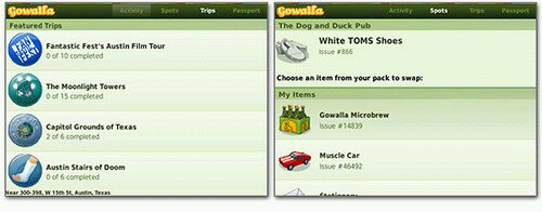 GowallaBlackbrry Check in with fruit as Gowalla version 1.0 for BlackBerry now available.
