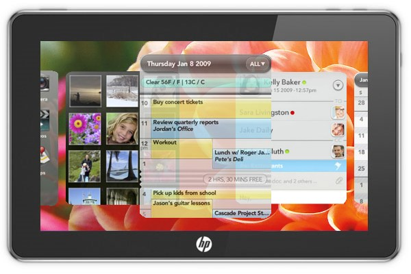 HP Exec Tells Employees WebOS Tablet Will Launch In Q1 2011